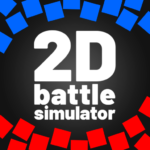2D Battle Simulator 😅 -totally accurate simulator 2.01 (MOD, Unlimited Money)