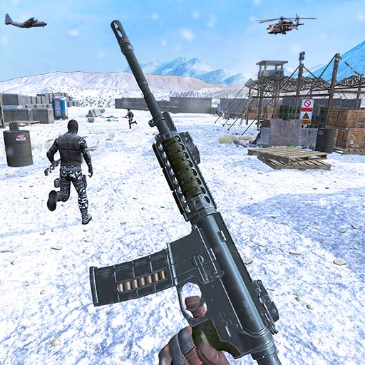Action shooting games : Commando Games 4.24 (MOD, Unlimited Money)