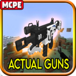 Actual Guns Mod for Minecraft PE 4.2 (MOD, Unlimited Money)