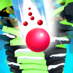 Ball Run Stack – 8 Ball Game Stack Ball 3D Helix 41 (MOD, Unlimited Money)