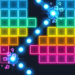 Brick Breaker: Neon-filled hip hop! 1.0.21 (MOD, Unlimited Money)
