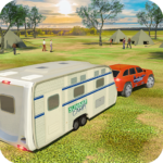 Camper Van Truck Simulator: Cruiser Car Trailer 3D 1.13 (MOD, Unlimited Money)