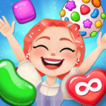 Candy Go Round – #1 Free Candy Puzzle Match 3 Game 1.6.0 (MOD, Unlimited Money)