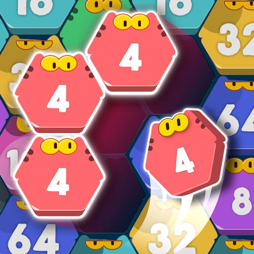Cat Cell Connect – Merge Number Hexa Blocks 1.2.1 (MOD, Unlimited Money)