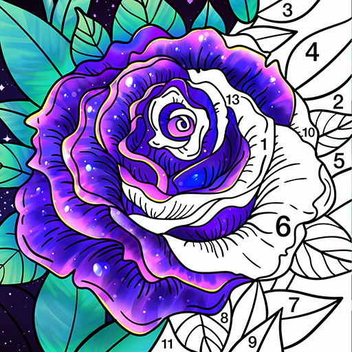 Coloring Book – Color by Number & Paint by Number 1.6.20(MOD, Unlimited Money)