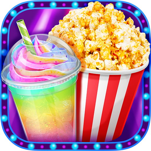 Crazy Movie Night Food Party – Make Popcorn & Soda 1.4 (MOD, Unlimited Money)