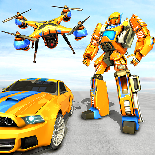 Drone Robot Car Game – Robot Transforming Games 1.2.3 (MOD, Unlimited Money)