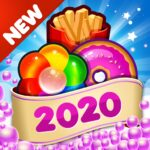 Fast Food 2020 New Match 3 Free Games Without Wifi 2.0.8 (MOD, Unlimited Money)