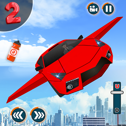 Flying Car Shooting Game: Modern Car Games 2020 2.8 (MOD, Unlimited Money)