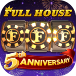 Full House Casino – Free Vegas Slots Machine Games 2.1.3 (MOD, Unlimited Money)