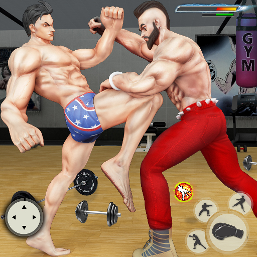 GYM Fighting Games: Bodybuilder Trainer Fight PRO 1.4.2(MOD, Unlimited Money)