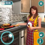 Home Chef Mom 2020 : Family Games 1.1.5 (MOD, Unlimited Money)