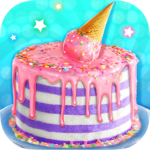 Ice Cream Cone Cake – Sweet Trendy Desserts 1.2 (MOD, Unlimited Money)