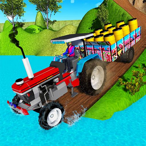 Indian Tractor Trolley Off-road Cargo Drive Game 1.0 (MOD, Unlimited Money)