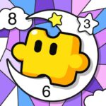 Jigsaw Coloring: Number Coloring Art Puzzle Game 1.2.0 (MOD, Unlimited Money)
