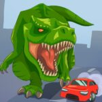 Jurassic Dinosaur: City rampage 2.8 (MOD, Unlimited Money)