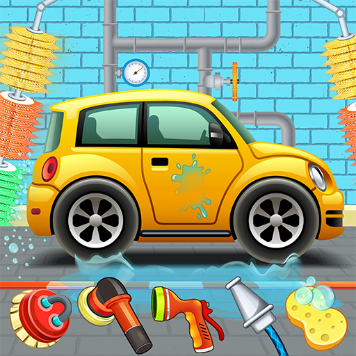 Kids Car Wash Service Auto Workshop Garage 2.3(MOD, Unlimited Money)