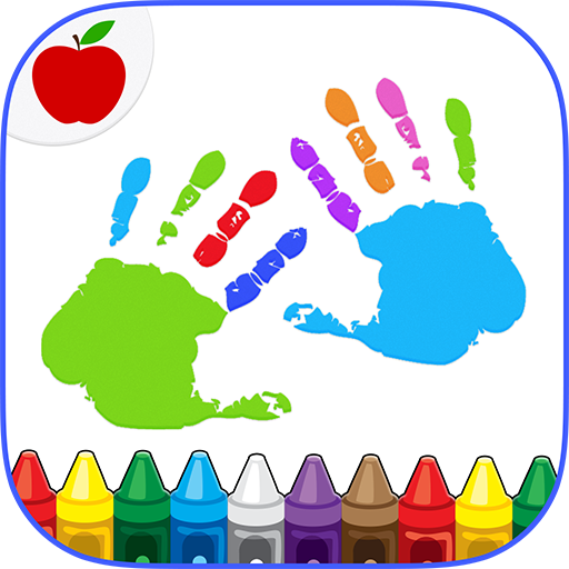 Kids Finger Painting Coloring 22 (MOD, Unlimited Money)