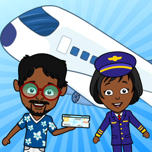 My Airport Town: Kids City Airplane Games for Free 1.6.1 (MOD, Unlimited Money)