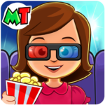 My Town : Cinema. Fun Movistar Kids Movie Night 🍿 1.08 (MOD, Unlimited Money)