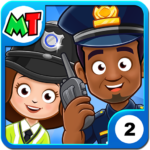 My Town : Police Station. Policeman Game for Kids  (MOD, Unlimited Money) 2.94