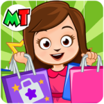 My Town : Shopping Mall. Dress up Shopping Game 1.10 (MOD, Unlimited Money)