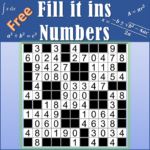 Number Fill in puzzles – Numerix, numeric puzzles 6.6 (MOD, Unlimited Money)