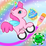 Pony Go : Drawing Race – Rainbow Paint Lines 1.1.1 (MOD, Unlimited Money)