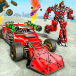 Ramp Car Robot Transforming Game: Robot Car Games 1.3 (MOD, Unlimited Money)