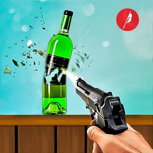 Real Bottle Shooting Free Games: 3D Shooting Games 20.6.0.3 (MOD, Unlimited Money)