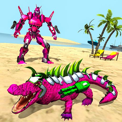 Real Robot Crocodile Simulator- Robot transform 1.0.20 (MOD, Unlimited Money)
