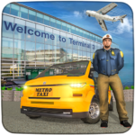 Real Taxi Airport City Driving-New car games 2020 1.10 (MOD, Unlimited Money)