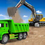 Sand Excavator Truck Driving Rescue Simulator game 5.6.2 (MOD, Unlimited Money)