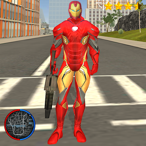 Super Iron Rope Hero – Vegas Fighting Crime 6.1(MOD, Unlimited Money)