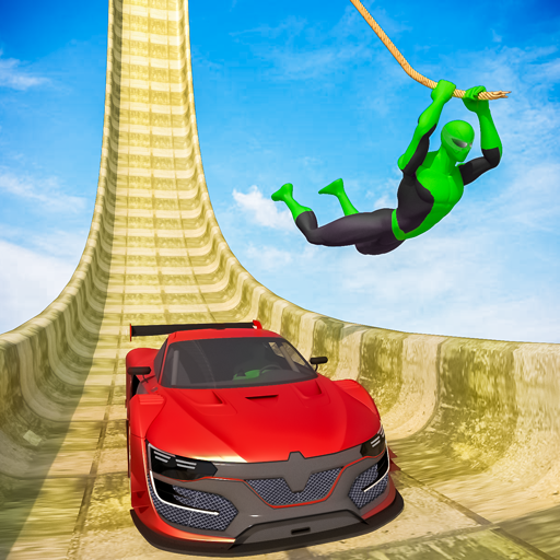 Superhero Mega Ramps: GT Racing Car Stunts Game 1.12(MOD, Unlimited Money)