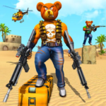 Teddy Bear Gun Strike Game: Counter Shooting Games 3.2 (MOD, Unlimited Money)