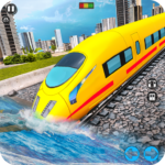 Underwater Bullet Train Simulator : Train Games 3.5.0 (MOD, Unlimited Money)
