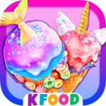 Unicorn Chef: Mermaid Cooking Games for Girls 2.2 (MOD, Unlimited Money)