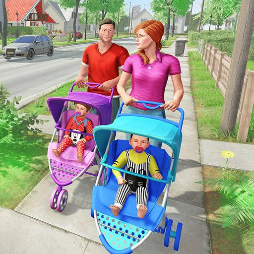 Virtual Mother New Baby Twins Family Simulator 2.2.2 (MOD, Unlimited Money)