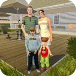 blessed virtual mom: mother simulator family life 4 (MOD, Unlimited Money)