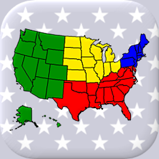 50 US States Map, Capitals & Flags – American Quiz 3.3.0 (MOD, Unlimited Money)
