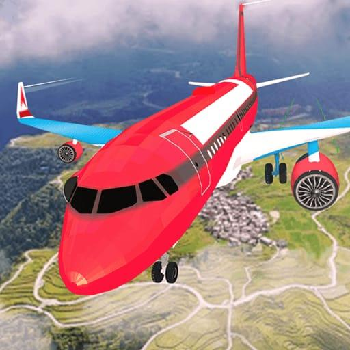 Airplane Flight Simulator Free Offline Games 1.1 (MOD, Unlimited Money)