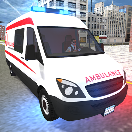 American Ambulance Emergency Simulator 2021  (MOD, Unlimited Money)