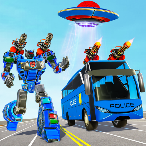 Bus Robot Car Transform War– Spaceship Robot game 4.8 (MOD, Unlimited Money)