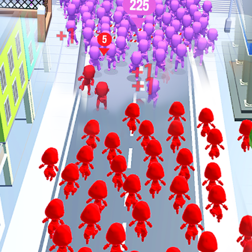 Crowd Run – City Of Wars 0.9 (MOD, Unlimited Money)