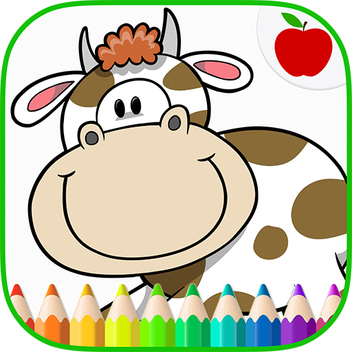 Farm Animals Coloring Book 9 (MOD, Unlimited Money)