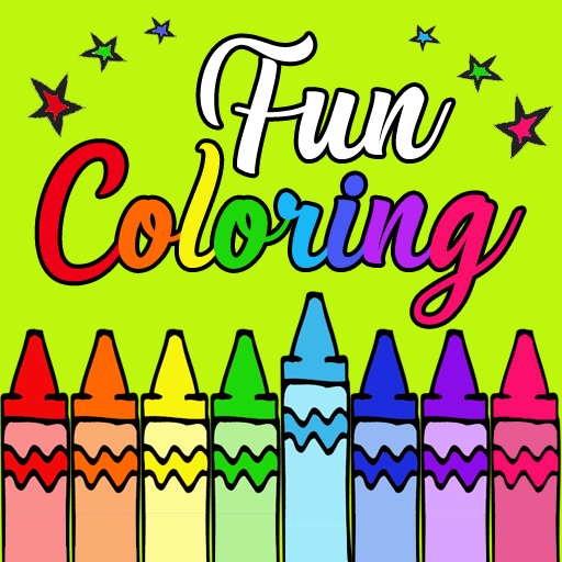 Fun Coloring for kids R.1.9.4 (MOD, Unlimited Money)