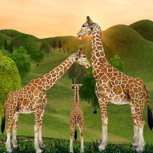 Giraffe Family Life Jungle Simulator 4.3 (MOD, Unlimited Money)