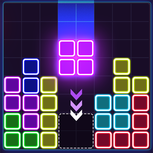 Glow Block Puzzle 1.8.9 (MOD, Unlimited Money)