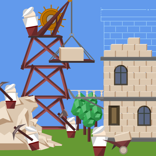 Idle Tower Builder: construction tycoon manager 1.1.9(MOD, Unlimited Money)